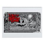 Year Of Halloween Wall Calendar