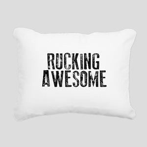 Rucking Awesome Rectangular Canvas Pillow