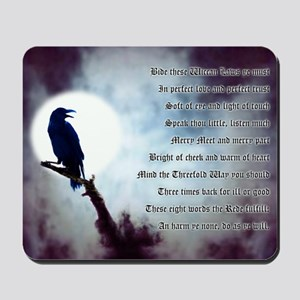 Raven's Rede Mousepad