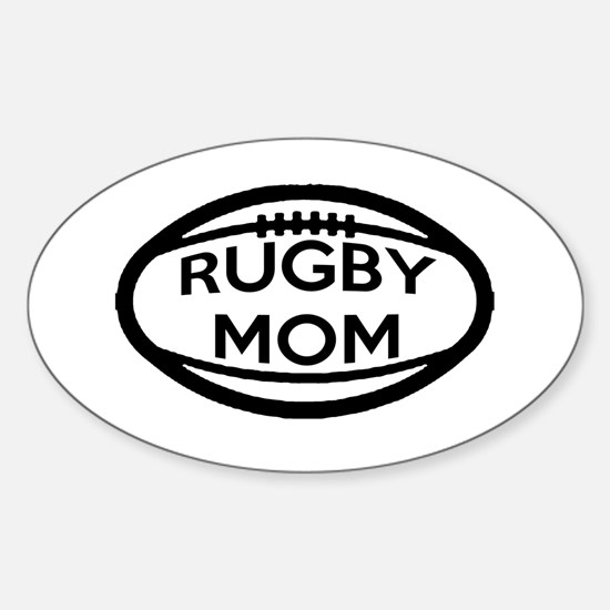 Rugby Mom Decal