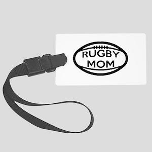 Rugby Mom Luggage Tag