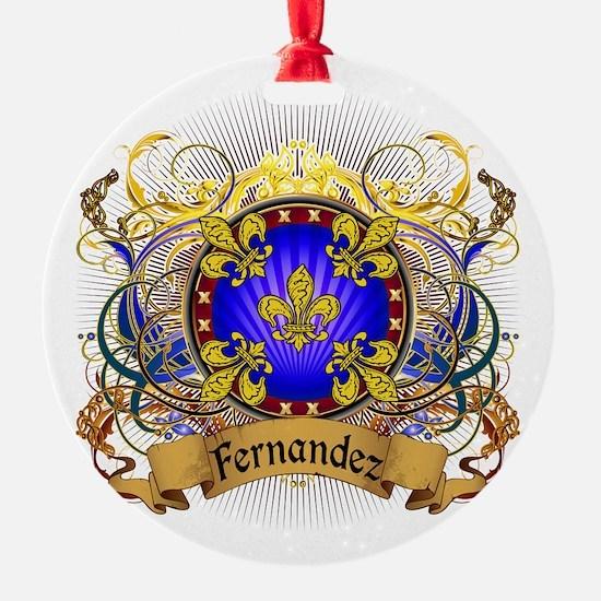 Fernandez Family Crest Ornament