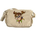 Mardi Gras Design 2014 Messenger Bag