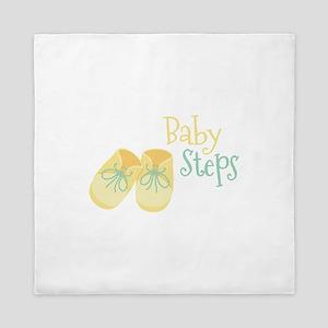 Baby Steps Queen Duvet
