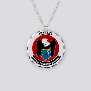 VP 16 Eagles Necklace Circle Charm