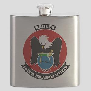 VP 16 Eagles Flask