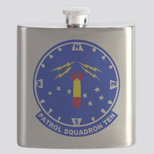 VP 10 Red Lancers Flask