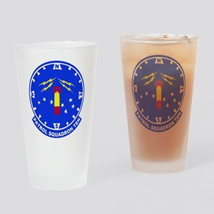 VP 10 Red Lancers Drinking Glass
