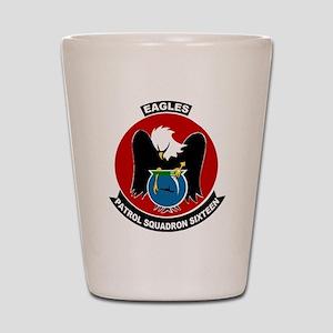 VP 16 Eagles Shot Glass