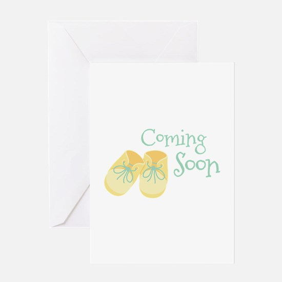 Coming Soon Greeting Cards