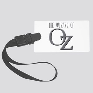 The Wizard of Oz Silver Large Luggage Tag