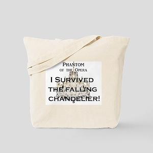 "Phantom of the Opera ""Falling Chandelier"" Tote Bag"