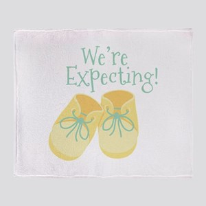 Were Expecting Throw Blanket