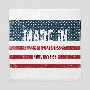 Made in East Elmhurst, New York Queen Duvet