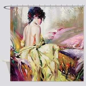 Nude Portrait Shower Curtain