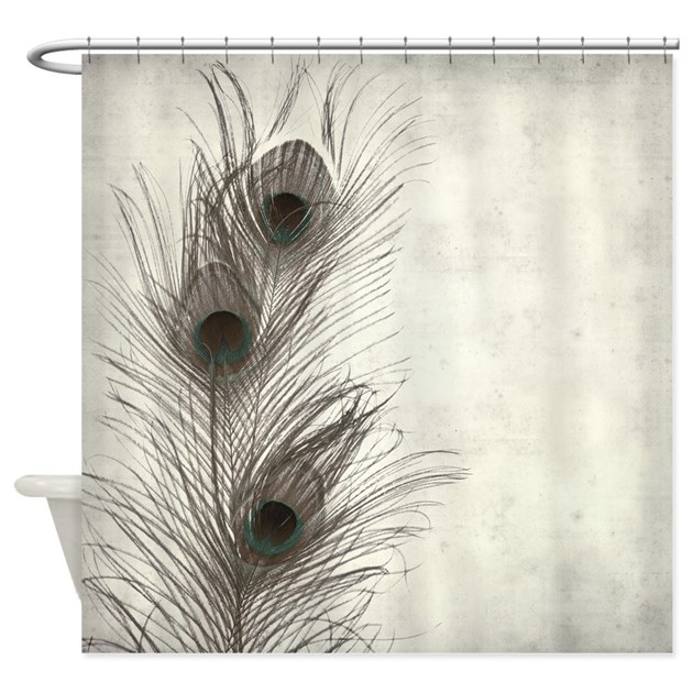 Peacock Feather Shower Curtain By BestShowerCurtains