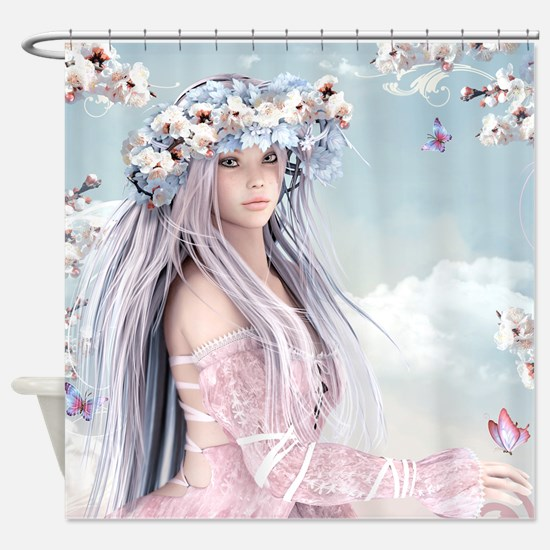 Fairytale Girl Shower Curtain