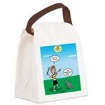 Tinkles Won't Fetch Canvas Lunch Bag