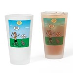 Tinkles Won't Fetch Drinking Glass