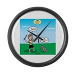 Tinkles Won't Fetch Large Wall Clock