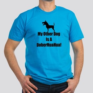 My Other Dog is a DoberHuaHua! Men's Fitted T-Shir