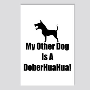 My Other Dog is a DoberHuaHua! Postcards (Package