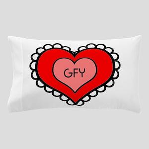 GFY Heart Pillow Case