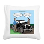 Things that Last Square Canvas Pillow