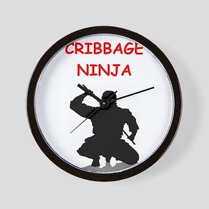 crrbbage Wall Clock
