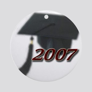 Graduation 2007 Ornament (Round)