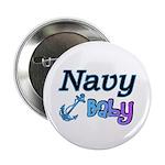 Navy Baby blue anchor 2.25