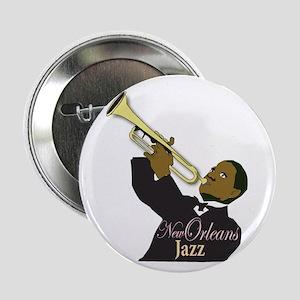 """New Orlean's Jazz 2.25"""" Button (100 pack)"""