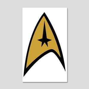 TOS Command Insignia 20x12 Wall Decal