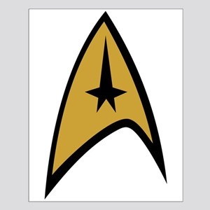 TOS Command Insignia Small Poster