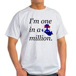 One in a Million Light T-Shirt