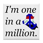 One in a Million Tile Coaster