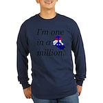 One in a Million Long Sleeve Dark T-Shirt