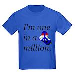 One in a Million Kids Dark T-Shirt