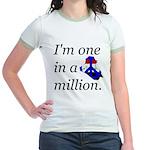 One in a Million Jr. Ringer T-Shirt