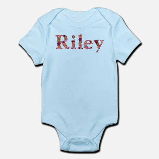 Riley Pink Flowers Body Suit
