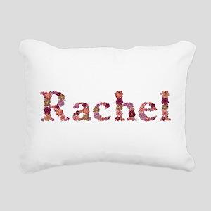 Rachel Pink Flowers Rectangular Canvas Pillow