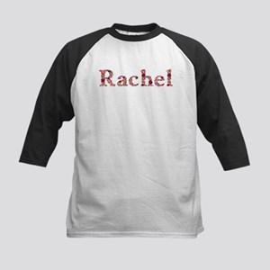 Rachel Pink Flowers Baseball Jersey