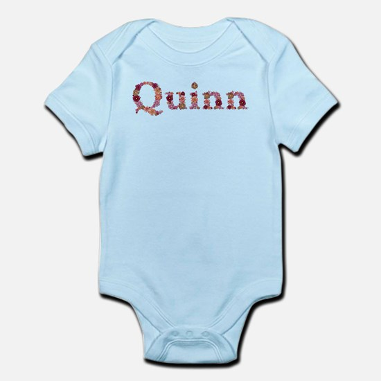 Quinn Pink Flowers Body Suit
