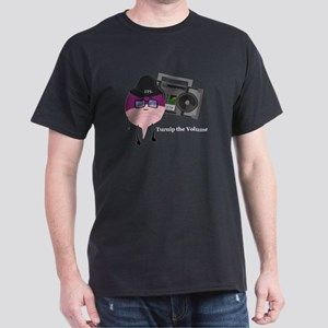 Turnip The Volume Men's Dark T-Shirt