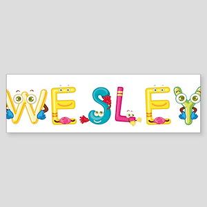 Wesley Bumper Sticker