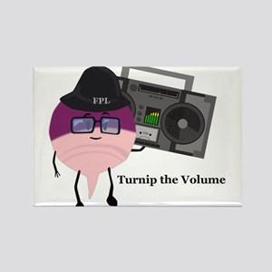 Turnip The Volume Rectangle Magnet