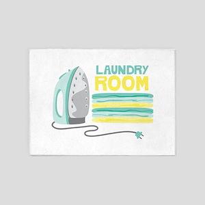 Laundry Room 5'x7'Area Rug