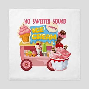 The Ice Cream Truck Queen Duvet