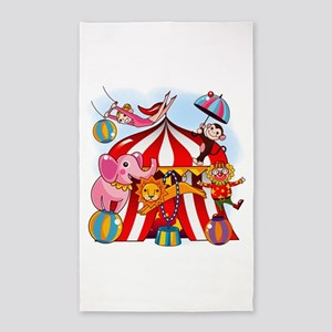 The Circus is in Town 3'x5' Area Rug