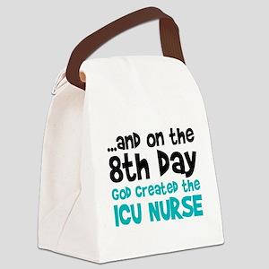 ICU Nurse Creation Canvas Lunch Bag